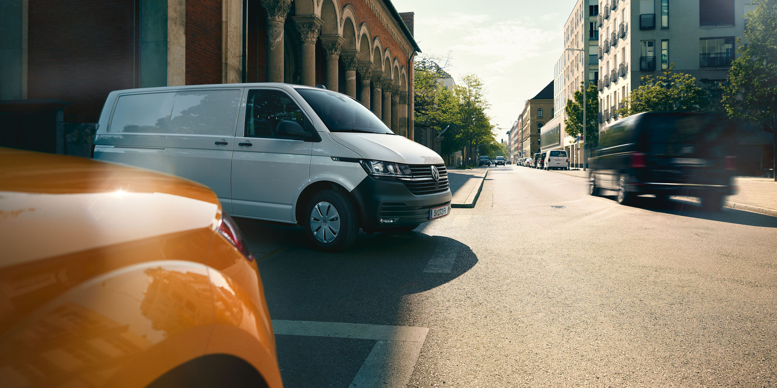 VW Caddy Kastenwagen T6 Transporter weiß