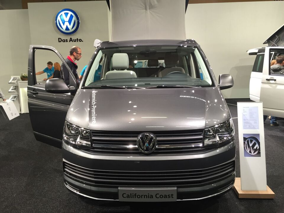 VW California Coast Premiere Caravan Salon Wels