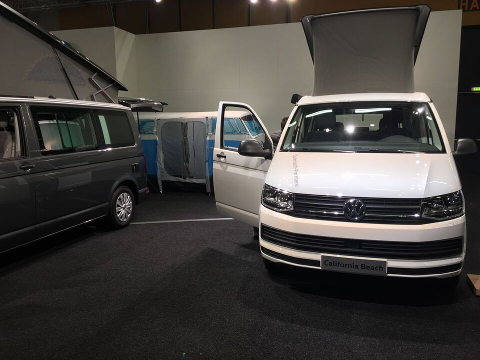VW California Beach weiß Caravan Salon Wels