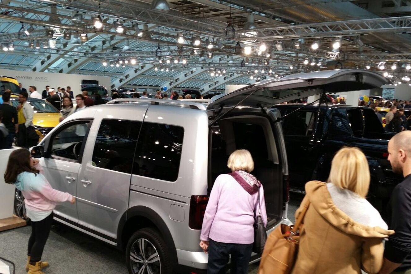 VW Caddy Messe Linz