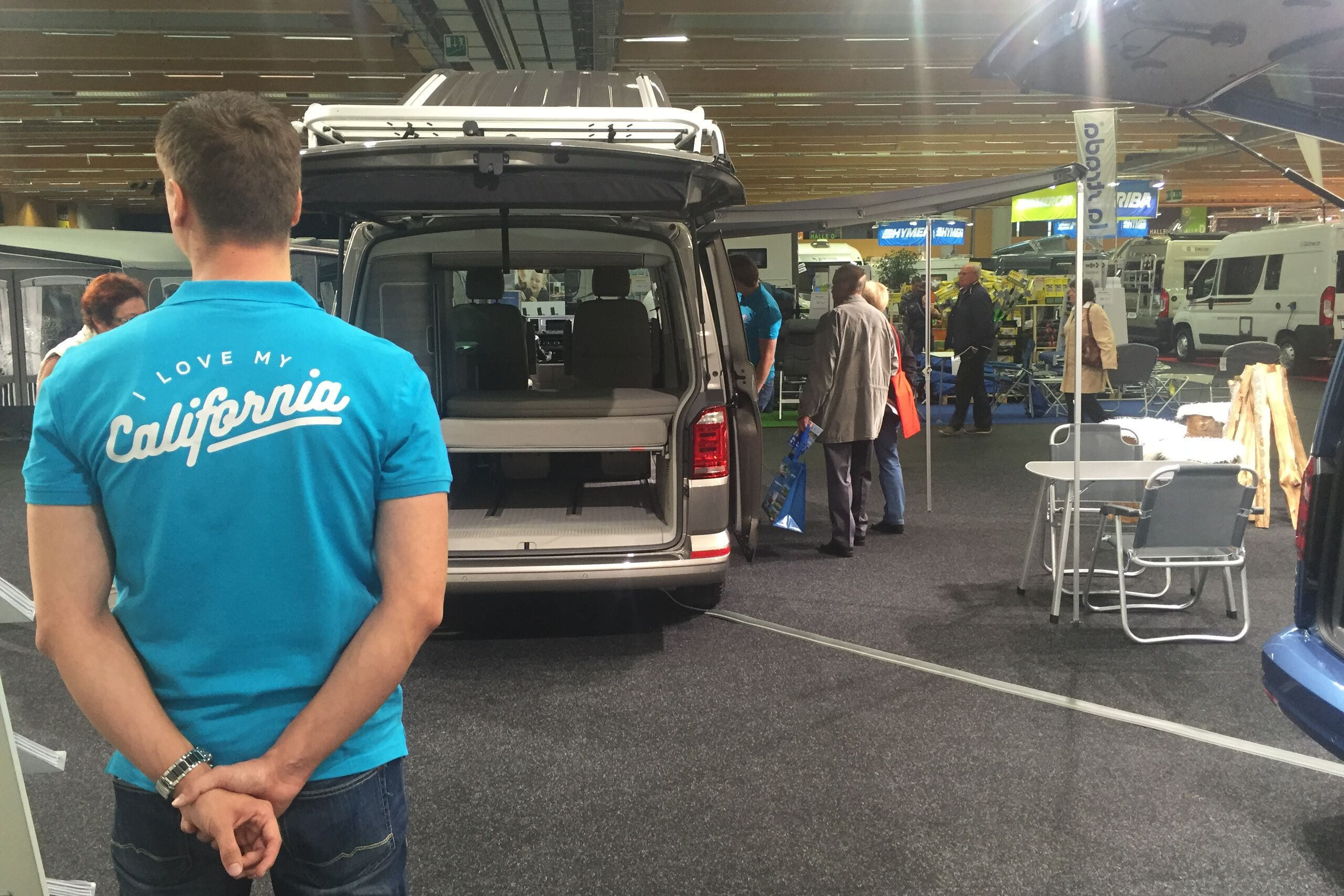 VW Messestand I love my California