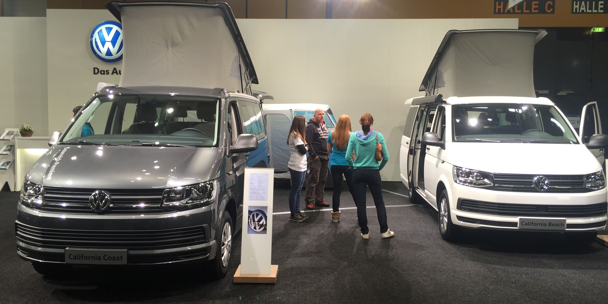 VW California Beach und Ocean