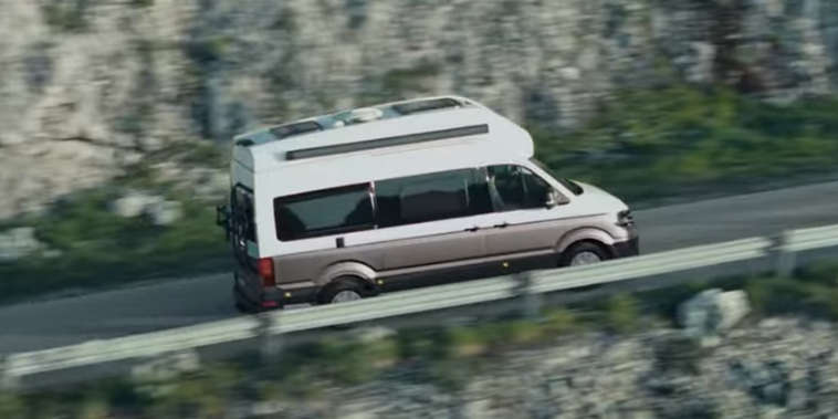 Produktfilm des VW Grand California