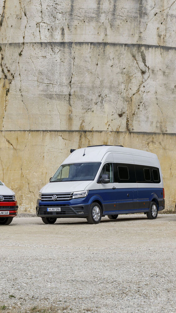 VW California Familie California Ocean Grand California 600 und 680