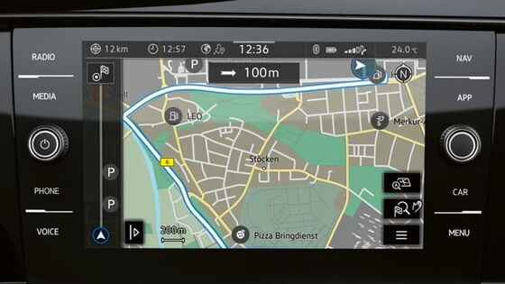 "Das Navigationssystem ""Discover Media"" im VW Multivan 6.1"