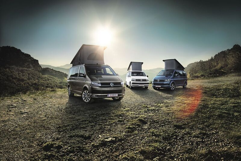 VW California Range